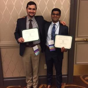 Drs. Saucedo and Srinivasan became new Active Members of ASSH